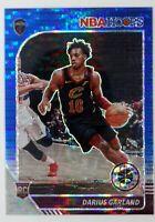 2019-20 NBA Hoops Premium Stock Prizms Blue Pulsar Darius Garland Rookie RC #251