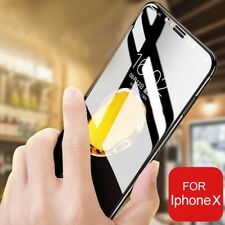 Full Edge to Edge Screen Protection REAL Tempered Glass 9H Hardness for iPhone X