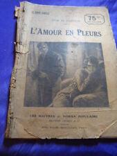 L'AMOUR EN PLEURS ,  JULES DE GASTYNE (cai101)
