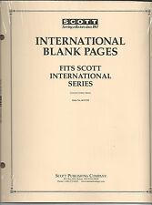 Pkg. of 20 Scott ACC130 International Blank Pages