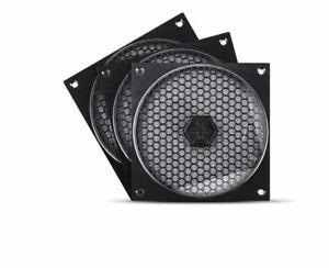 Silverstone FF121B-3PK  120mm Fan Grill & Filter Kit (3 Pack)