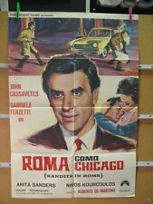 167       ROMA COMO CHICAGO JOHN CASSAVETES ALBERTO DE MARTINO
