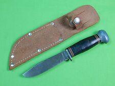 Vintage US 1950-60 PAL RH-50 Fighting Knife & Sheath