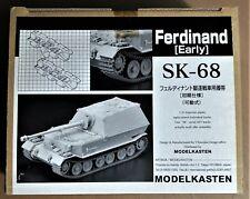 MODELKASTEN SK-68 - FERDINAND (EARLY) - CINGOLI TRACKS - 1/35 PLASTIC KIT
