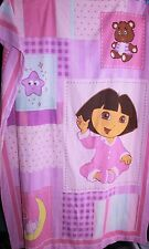 GGENUINE DORA THE EXPLORER PATCHWORK S/BED QUILT DUVET COVER GIRLS PINK EX RP$50