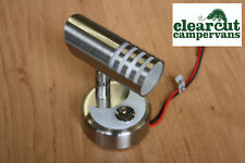 12V LED SPOTLIGHT/ READING LIGHT- TOUCH ACTIVATED. CAMPERVAN, MOTORHOME LIGHTING