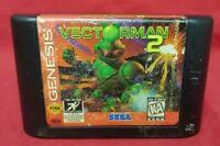 Vectorman 2 - Sega Genesis Rare Game Tested Works Authentic Original