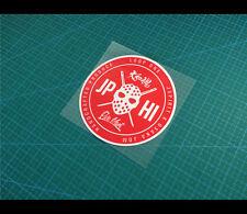 LOOP ONE JP HI Five Mart JSPIRIT X OSAKA JDM Car decal Reflective Sticker #30