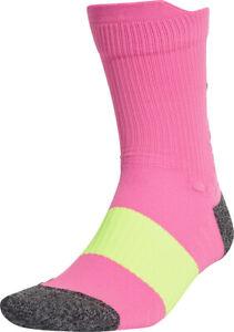 adidas UltraLight Performance Crew Running Socks - Pink