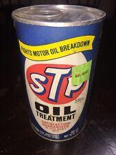 VINTAGE STP OIL TREATMENT  UNOPENED 15 OZ  METAL CAN Racers Edge