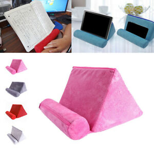Reading Phone Holder Tablet Pillow Book Stand Cushion Pillow Mount Holder Solid
