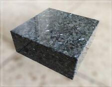 Granitsockel, Grabsockel, Lampensockel, Granit, Blue Pearl, 20x20x8cm, Neu!!!