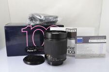 [MINT+]CONTAX Carl Zeiss Planar T* 100mm F/2 MMG Germany Lens w/Box #3506