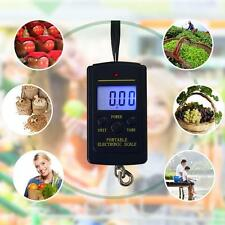 Electronic Hanging Fishing Luggage Pocket Portable Digital Weight Scale New BA