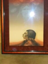 Vintage Frank Howell Sky Prophet Hand Signed Artist Proof ORIGINAL LITHOGRAPH
