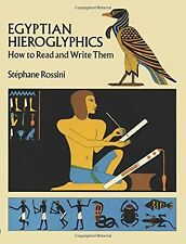 Egyptian Hieroglyphics: How to Read and Write Them NEW BOOK