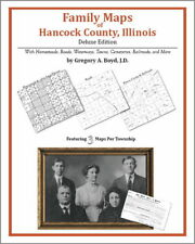 Family Maps Hancock County Illinois Genealogy IL Plat
