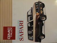 1991 GMC Safari Owners Manual