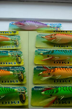 5x TOTANARA OCTOPUS SQUID Action JIG SEPPIE g.3.0 equilibrismo doppio gancio