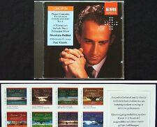 Maurizio POLLINI CHOPIN: piano Concerto No. 1 ballata notturni Polonaise CD EMI