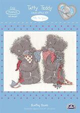 Me to You Bunting Bears Party Cross Stitch Kit DMC - Tatty Teddy Bear