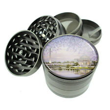 Washington D.C. D7 Titanium Grinder 4 Piece Magnetic Hand Mueller Monuments