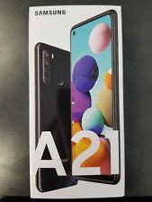 Samsung Galaxy A21 A215U 32GB Black GSM Unlocked T-Mobile AT&T Metro,H2o,Cricket