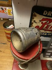 Vtg Old Federal Fire Truck Headlight Electric Siren Light missing back cover USA
