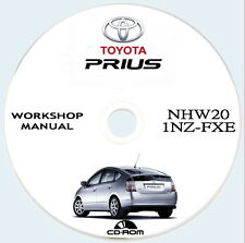TOYOTA PRIUS NHW20,2003/2009.Workshop,Repair Instruction Manual,
