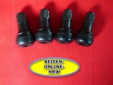4x Gummiventile TR412 Extra Kurz  Reifenventil Autoventil Motorradventil Snap in