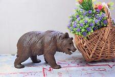 VINTAGE BLACK FOREST BEAR - GERMAN CARVING WOODEN BEAR - GERMAN WOODEN BEAR