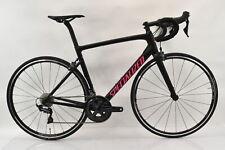 2018 Specialized Tarmac Expert SL6 Ultegra Carbon Bike 56cm Blk/Gl Acid Pink New