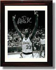 Framed Magic Johnson - Michigan State Spartans B&W Autograph Promo Print