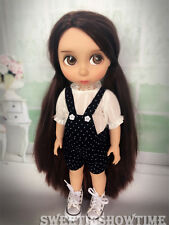 """Disney Baby Doll Clothes overalls suits Clothing Animator's collection 16"""""""