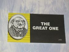 THE GREAT ONE  CHICK CHRISTIAN/ GOSPEL TRACT 1999 - FROM JACK CHICK PUBLICATIONS