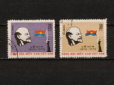 (YYAZ 548) Vietnam Viet Cong 1970 USED Mich 23 - 24 NLF NLFSV Vladimir Lenin