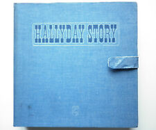 Johnny Hallyday coffret collector 10 vinyles 33Tours Hallyday Story Jean's