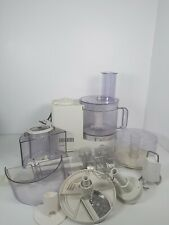 Braun Multipractic Deluxe Food Processor 4262 With Accessories Working Order