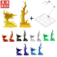 S.H.Figuarts Tamashii EFFECT BURNING FLAME & Stand Holder Fit SHF Figma Red