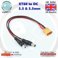 XT60 Stecker Auf 5.5mm 3.5mm Dc Kabel Stromkabel Fass Anschluss Adapter - FPV