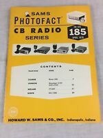 Sams Photofact CB Radio Series Volume CB-185 April 1978 Service Manual