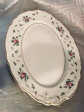 Princess-Empcraft China Sweet Briar  15 3/4 inch Oval Platter, EXCELLENT!!!