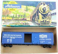 Athearn HO Scale Model Train Billboard Boxcar Seda-Cog Joint Rail Authority Blue