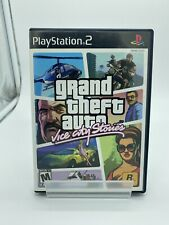 Grand Theft Auto: Vice City Stories (PlayStation 2, 2007 Ps2) W/ Manual & No Map