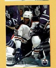1997-98 Pacific EMERALD GREEN parallel #164 Mike Grier EDMONTON OILERS