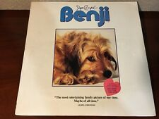 Laserdisc Joe Camp's BENJI The Original Hit Movie! 1974 NEW UNOPENED SEALED LD
