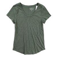 LOFT Women's - Vintage Soft Cap Short-Sleeve Textured Cotton Tee