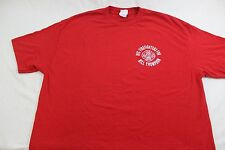 FDNY Red XL T NYC Firefighters for Bill Thompson Uniformed Firefighters Associat