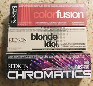 U-Pick REDKEN Color Fusion, Blonde Idol, or Chromatics 2 oz.