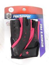 Harbinger Women's Pro Glove Wash and Dry Black/Pink (Large) 2 gloveHarbinger Wom